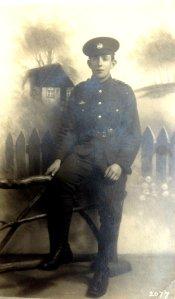 Charlie Suffolk Regiment no date. Photo courtesy of Rodney Barker